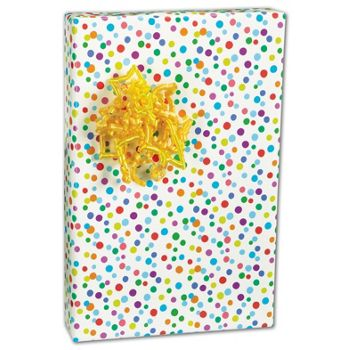 "Ditty Dots Gift Wrap, 24"" x 417'"