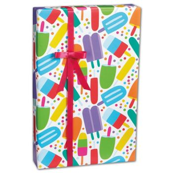 Popsicles Gift Wrap, 24