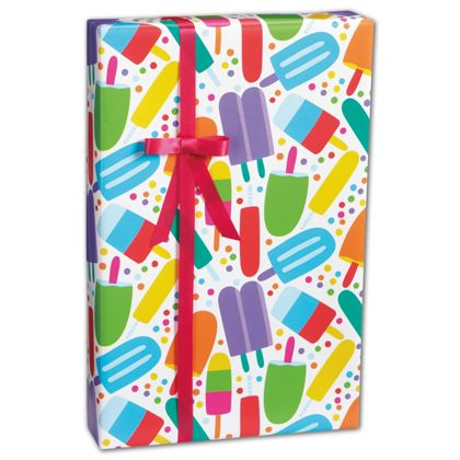 """Popsicles Gift Wrap, 24"""" x 100'"""
