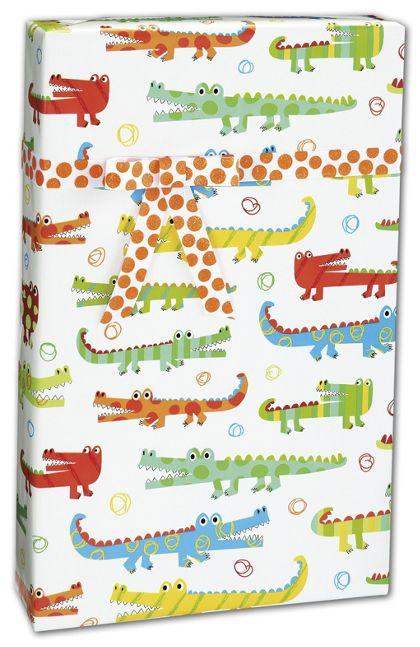 """Gator Gathering Gift Wrap, 24"""" x 100'"""