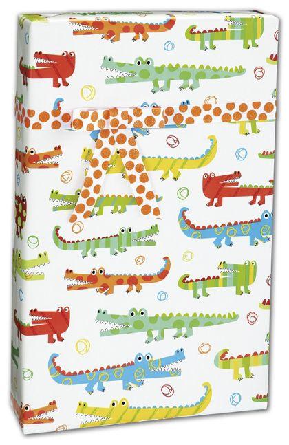 """Gator Gathering Gift Wrap, 24"""" x 417'"""
