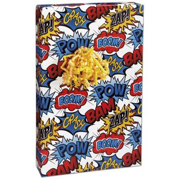 Superhero Gift Wrap, 24