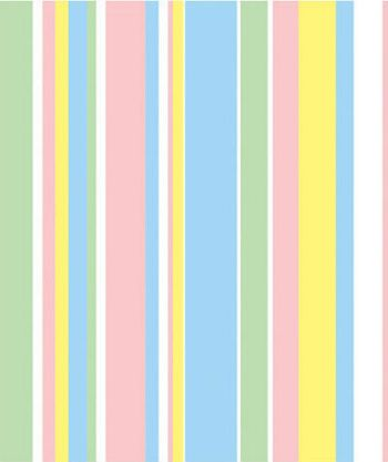 Baby Stripes Gift Wrap, 24