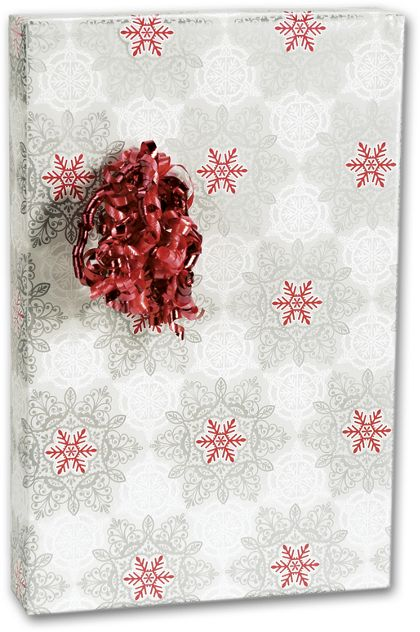 "Christmas Lace Gift Wrap, 24"" x 100'"