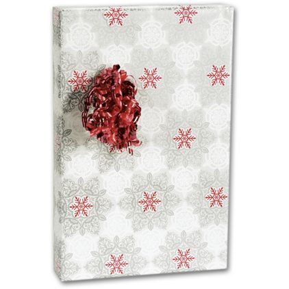 """Christmas Lace Gift Wrap, 24"""" x 100'"""