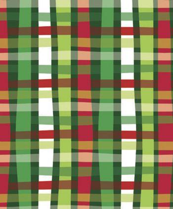 Christmas Weave Gift Wrap, 24