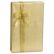 """Golden Cheetah Gift Wrap, 24"""" x 100'"""