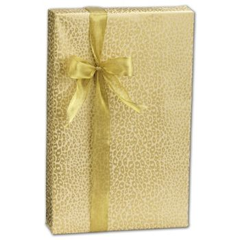 Golden Cheetah Gift Wrap, 24
