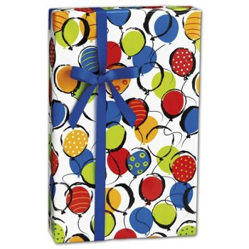 "Balloon Pop Gift Wrap, 24"" x 100'"