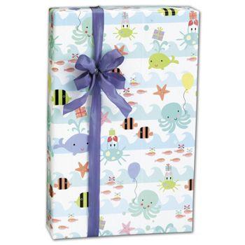 Sea Babies Gift Wrap, 24