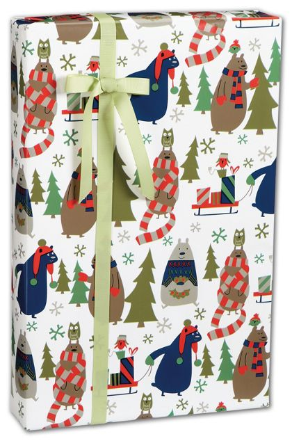 "All Wrapped Up Gift Wrap, 24"" x 100'"