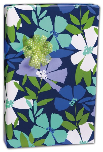 """Periwinkle Gift Wrap, 24"""" x 100'"""
