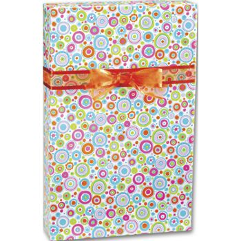 "Happy Dots Gift Wrap, 24"" x 100'"
