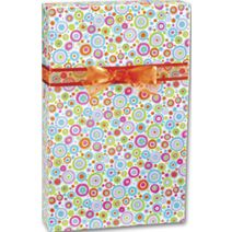 "Happy Dots Gift Wrap, 24"" x 417'"