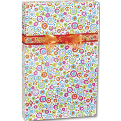 "Happy Dots Gift Wrap, 24"" x 417'"