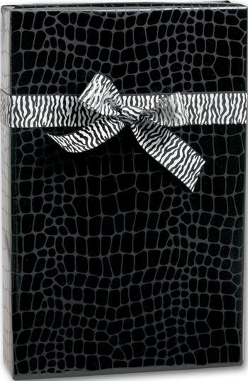 Mock Croc Jeweler's Roll Gift Wrap, 7 3/8
