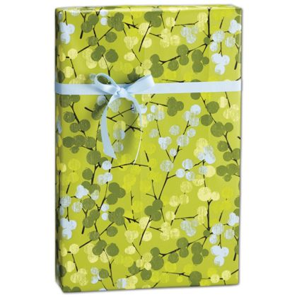 "Berry Branches Gift Wrap, 24"" x 100'"