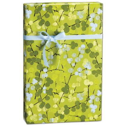 "Berry Branches Gift Wrap, 24"" x 417'"