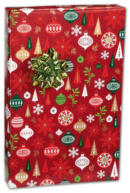 "Holiday Happening Gift Wrap, 24"" x 417'"