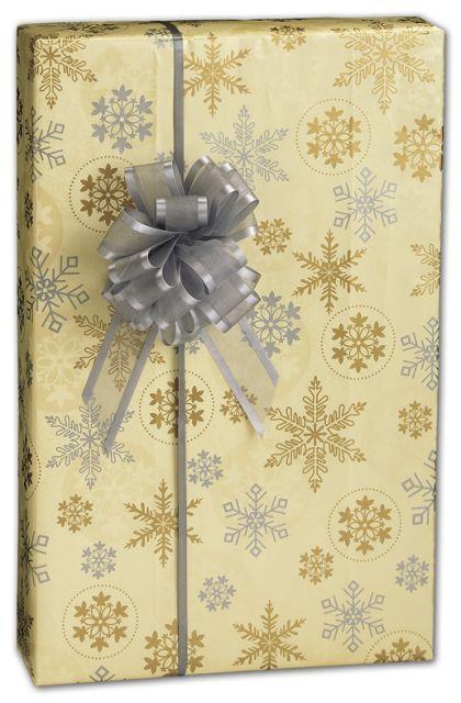 "First Snowfall Gift Wrap, 24"" x 100'"