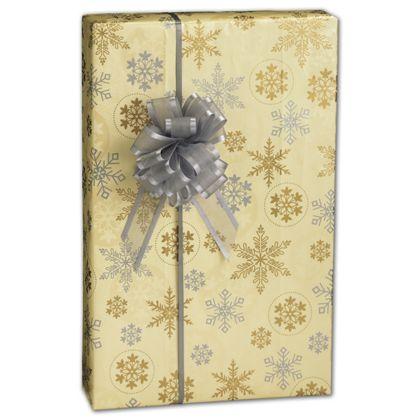 "First Snowfall Gift Wrap, 24"" x 417'"