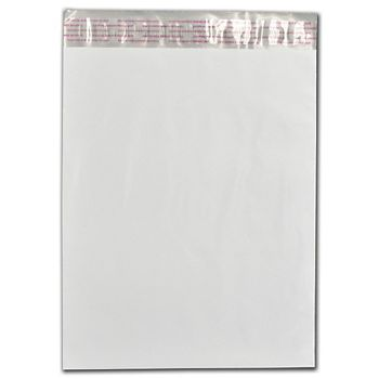 """White Poly Mailers, 10 x 13"""""""