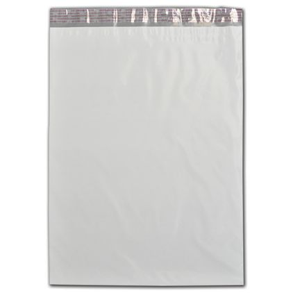 """White Poly Mailers, 14 1/2 x 19"""""""