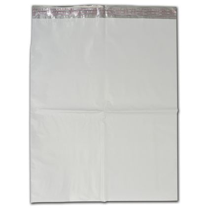 """White Poly Mailers, 19 x 24"""""""