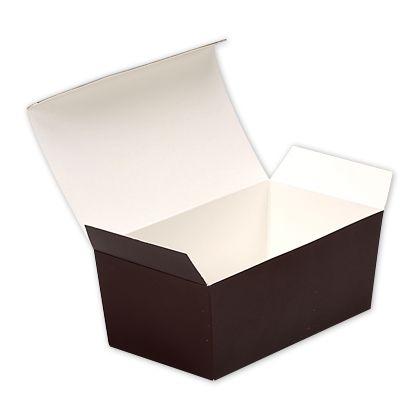 """Brown Paper Ballotin Boxes, 5 7/8 x 3 1/4 x 2 1/2"""""""