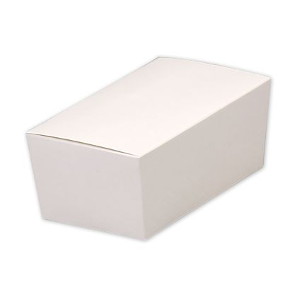 """White Paper Ballotin Boxes, 5 7/8 x 3 1/4 x 2 1/2"""""""