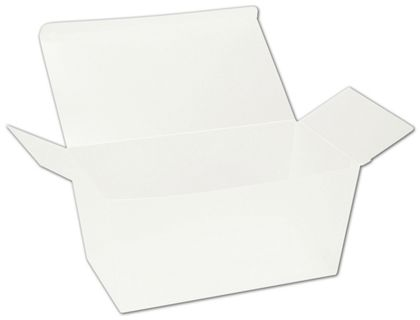 Frosted Ballotin Boxes, 6 5/8 x 3 3/4 x 3 1/2""