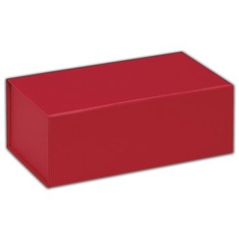 Red Magnetic Closure Gift Boxes, 7 x 4 x 2 3/4