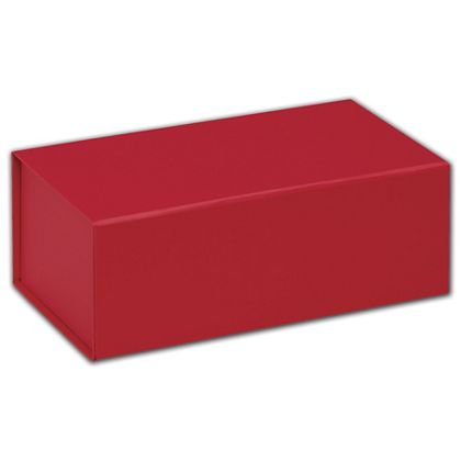 Red Magnetic Closure Gift Boxes, 7 x 4 x 2 3/4""