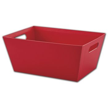 Red Market Trays, 14 x 9 x 6