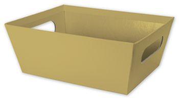 Gold Market Trays, 9 x 7 x 3 1/2