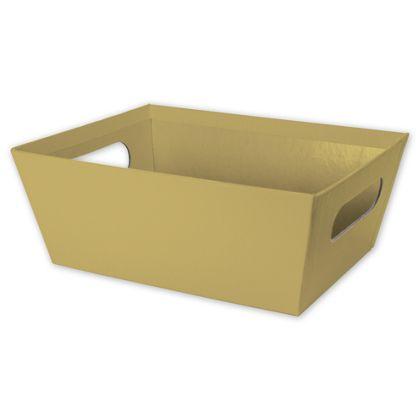 """Gold Market Trays, 9 x 7 x 3 1/2"""""""