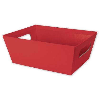 Red Market Trays, 9 x 7 x 3 1/2""
