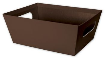 Brown Market Trays, 9 x 7 x 3 1/2