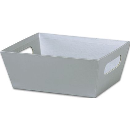 """Silver Market Trays, 9 x 7 x 3 1/2"""""""