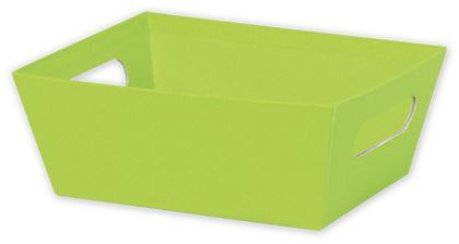 Lime Market Trays, 9 x 7 x 3 1/2""