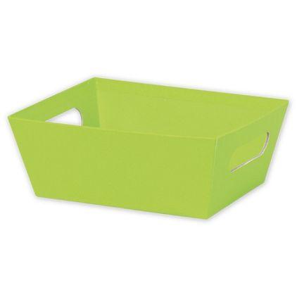 """Lime Market Trays, 9 x 7 x 3 1/2"""""""