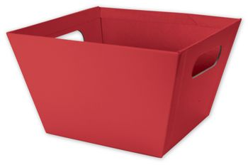 Red Square Market Trays, 8 x 8 x 5