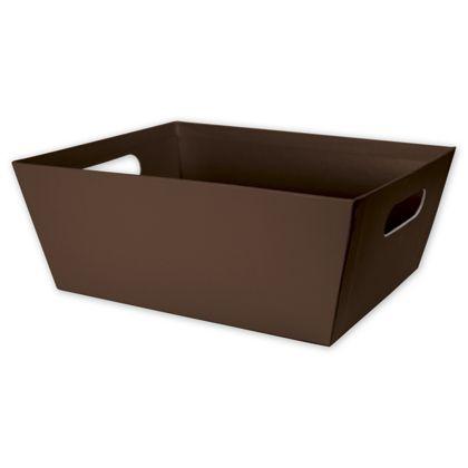 """Brown Market Trays, 12 x 9 1/2 x 4 1/2"""""""