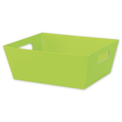 Lime Market Trays, 12 x 9 1/2 x 4 1/2""