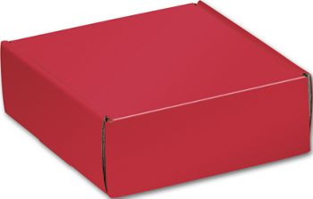Red Decorative Mailers, 6 x 6 x 2