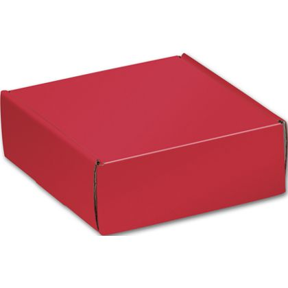 Red Decorative Mailers, 6 x 6 x 2""
