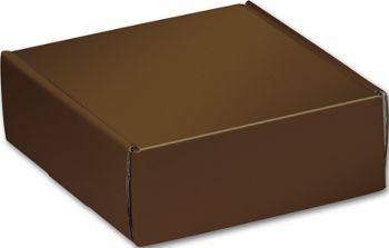 Chocolate Decorative Mailers, 6 x 6 x 2