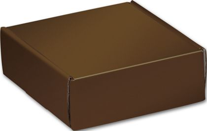 Chocolate Decorative Mailers, 6 x 6 x 2""
