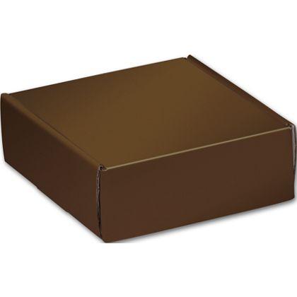 "Chocolate Decorative Mailers, 6 x 6 x 2"""