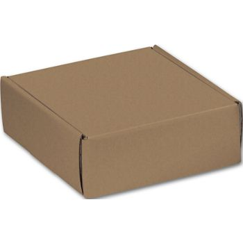 Kraft Decorative Mailers, 6 x 6 x 2""